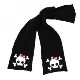 Boutique Pocket Skull Scarf