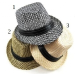 Toddler Woven Fedora Collection
