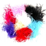 Curly Ostrich Puffs - Re-stocked