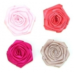 Mini Satin Hand Rolled Ribbon Rosettes