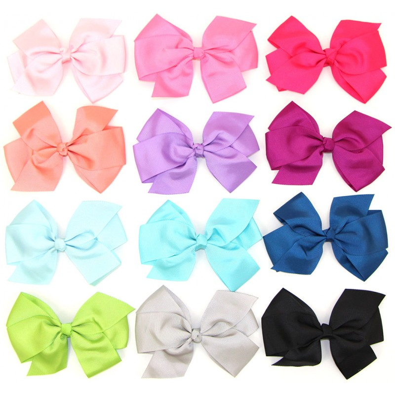 """5 Inch Boutique Bows- These 5"""" boutique bows come both ..."""
