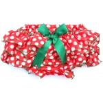 Polka Dot Christmas Bloomers