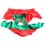 Red White & Green Christmas Bloomers