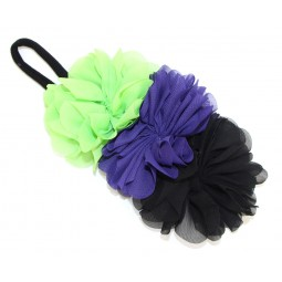 Midnight Chiffon Halloween Headband
