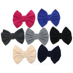 6 Inch Wool Bows
