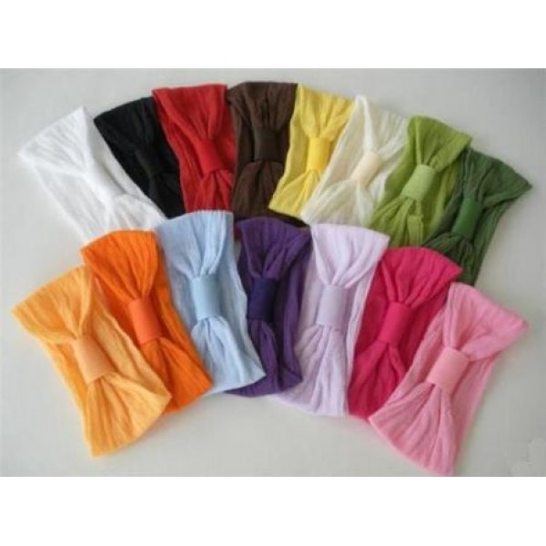 nylon headbands  soft and stretchy  mommies and babies enjoy these